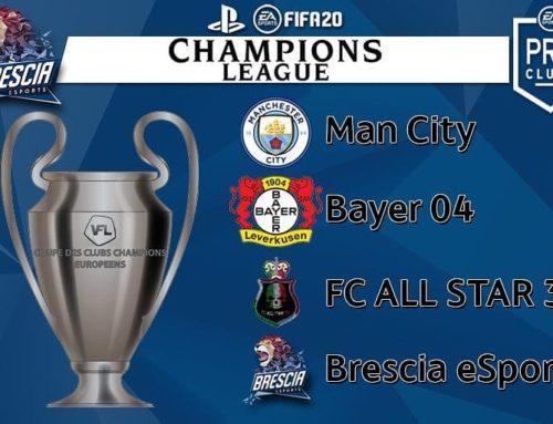Team ProClub PS4 – E' tempo di Champions League !