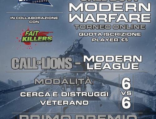 Fait Killers & Brescia eSports – COD Tournament – Binomio Vincente