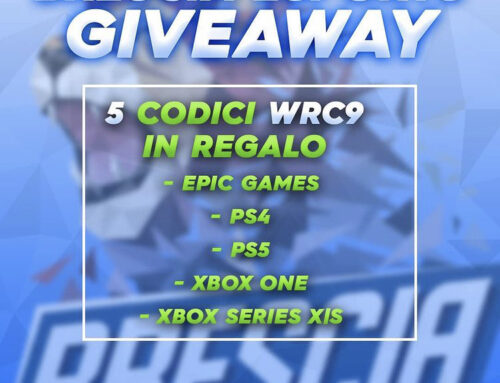 GiveAway WRC 9 – In regalo 5 copie del gioco !