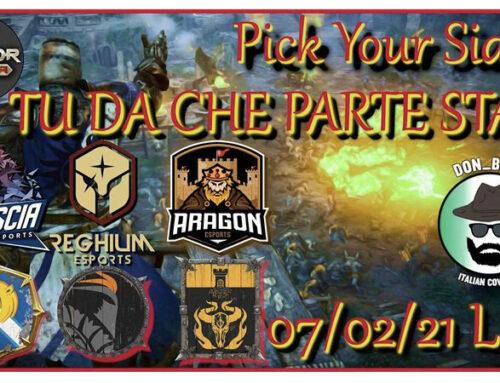 Pick Your Side – Brescia & Reghium & Aragon