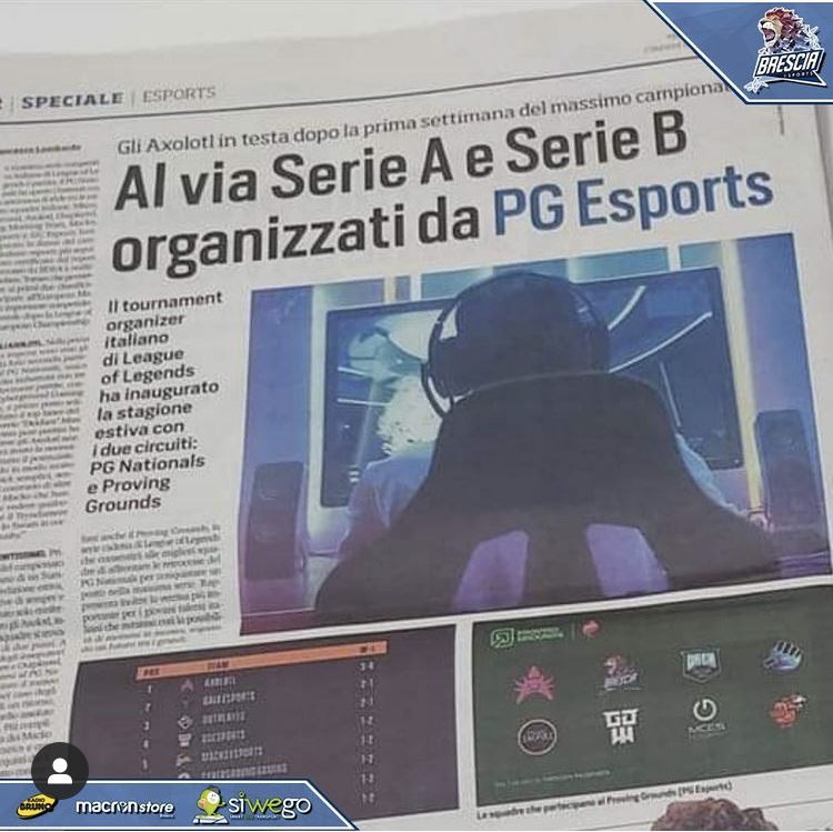 I Leoni sul Corriere dello Sport